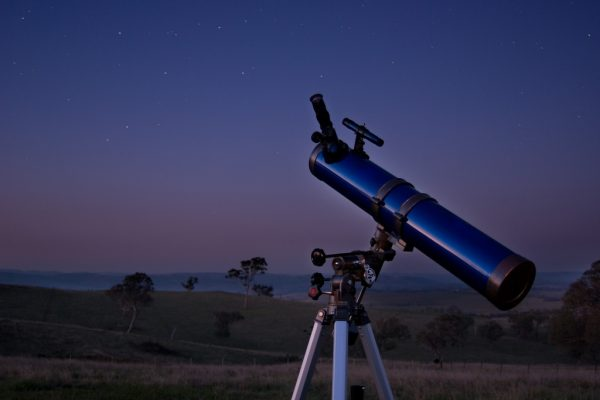 A computerised telescope