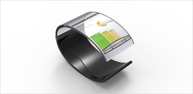 Flexible LCD Display