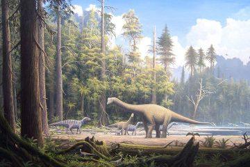 Jurassic landscape