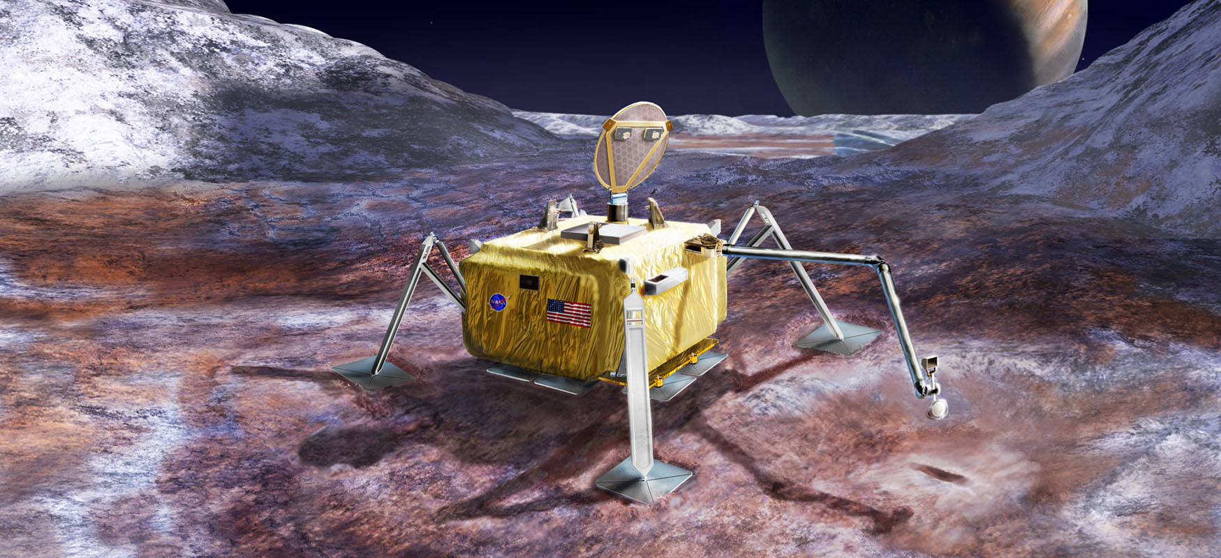 Europa Surface Lander
