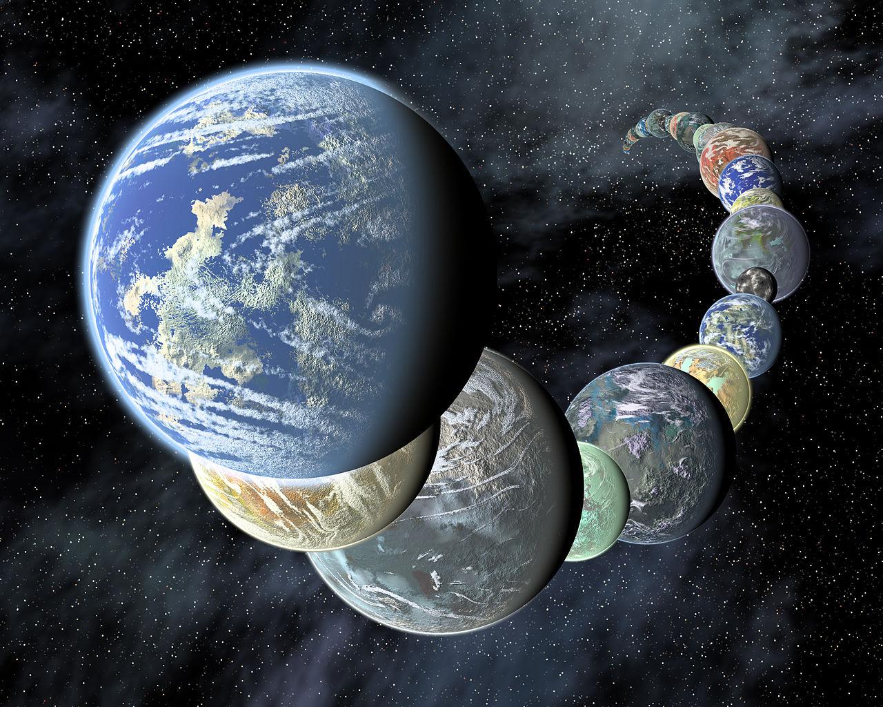 Rocky Terrestrial Worlds