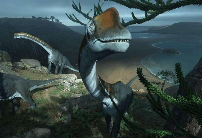 Brachiosaurus relative